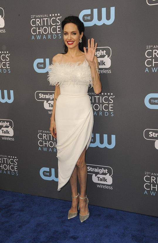 Angelina Jolie na Critics´ Choice Awards