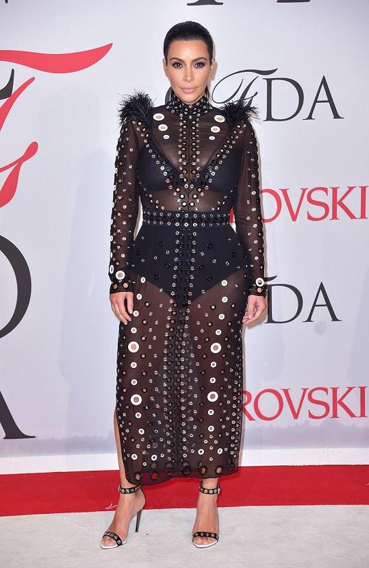 Kim Kardashian tentokrát příliš neoslnila.