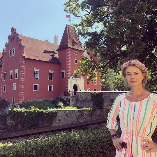 Pořízková letos při návštěvě Česka.