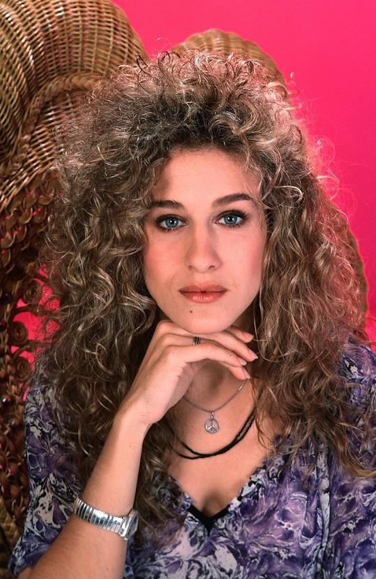 Takhle vypadala Sarah Jessica Parker ještě před patnácti lety.