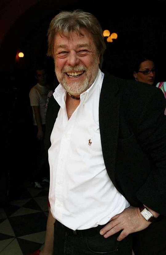 Jan Kanyza v roce 2004. Tehdy měl prošedivělé hlavně vousy.