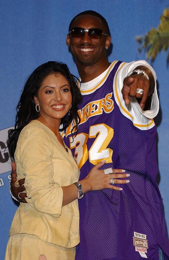 Vanessa Bryant poznala Kobeho, když se sama věnovala modelingu.