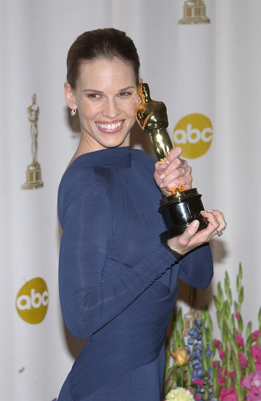 Hilary Swank si odnesla Oscara za roli v Million Dollar Baby.