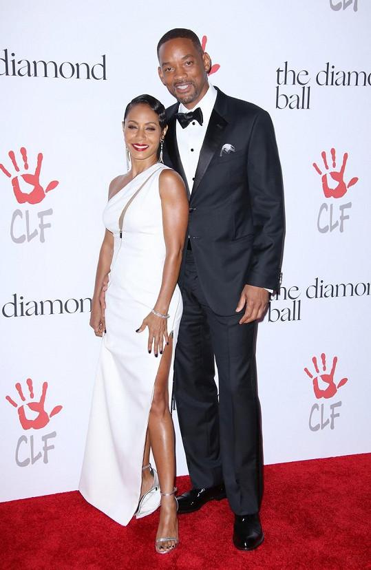 Will Smith s manželkou Jadou Pinkett Smith, s níž má syna Jadena a dceru Willow.