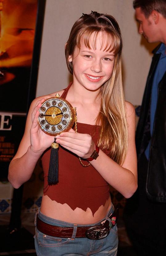 Brie na premiéře filmu Stroj času (2002)