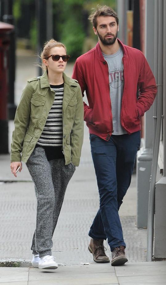 Emma Watson a William Adamowicz