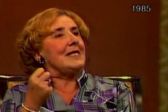 Ludmila Pelikánová v pořadu Křeslo pro hosta. Její vystoupení kritizovala i Jiřina Švorcová.