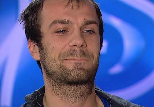 Soutěžící Pavel Malina se rozplakal v SuperStar.