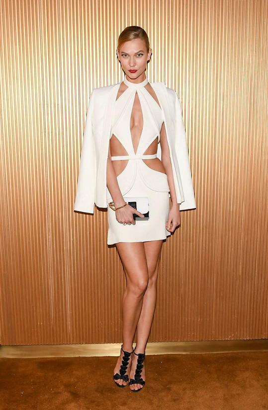 Karlie Kloss na Met Gala v New Yorku