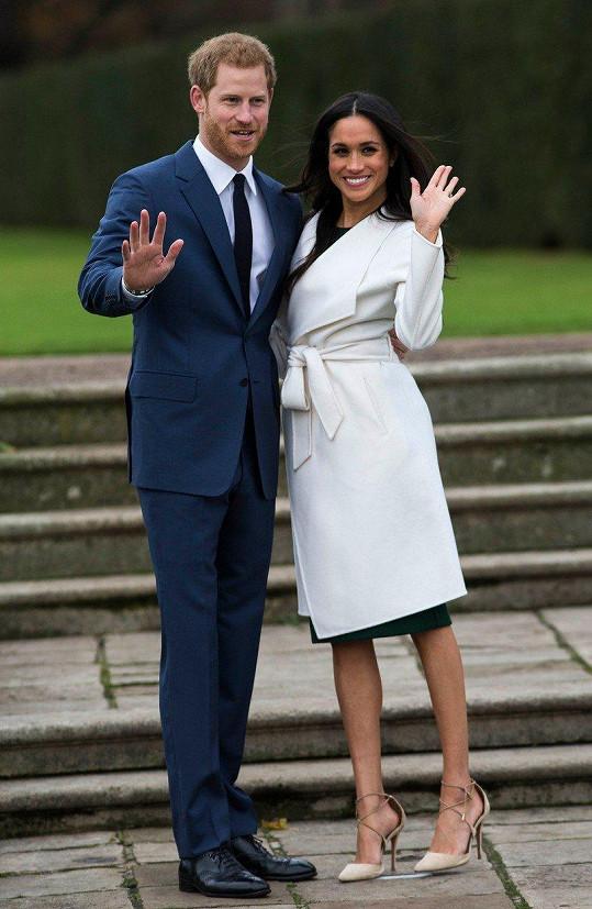Harry a Meghan vstoupí do manželství 19. května.