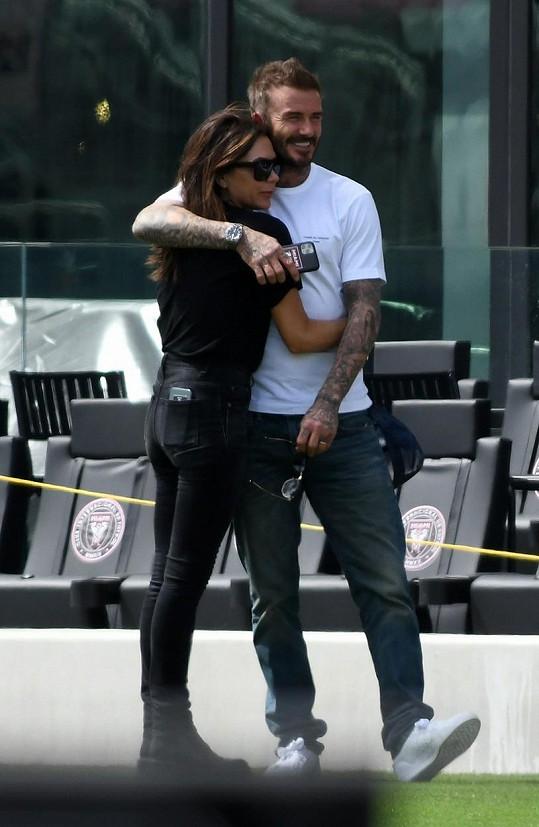 Victoria s manželem Davidem Beckhamem