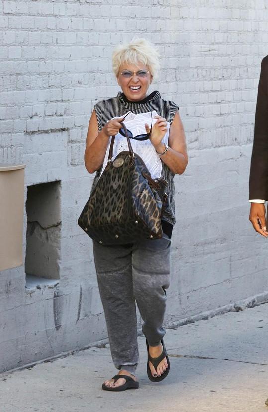 Roseanne Barr má tučná léta dávno za sebou.