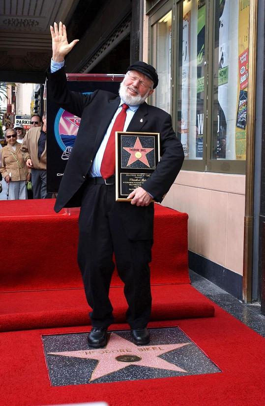 V roce 2005 se dočkal hvězdy na hollywoodském chodníku slávy.