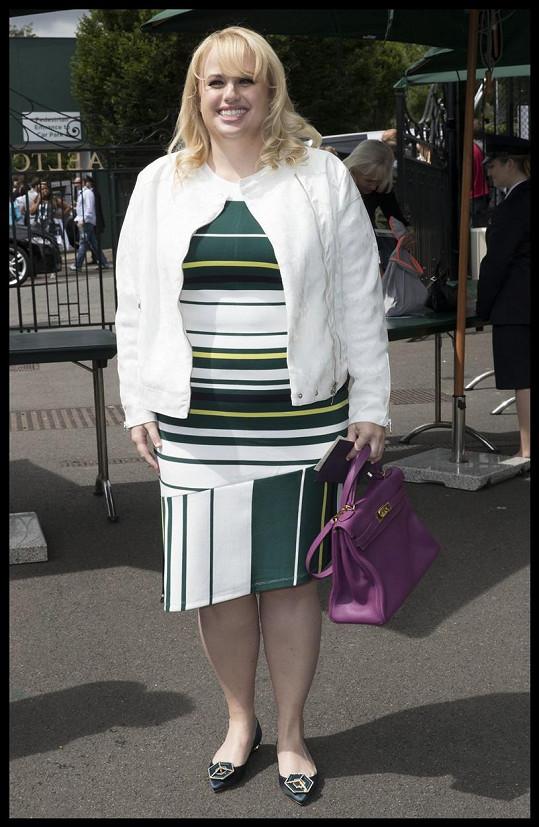Herečka porušila módní pravidlo, které by měly dodržovat všechny boubelky.