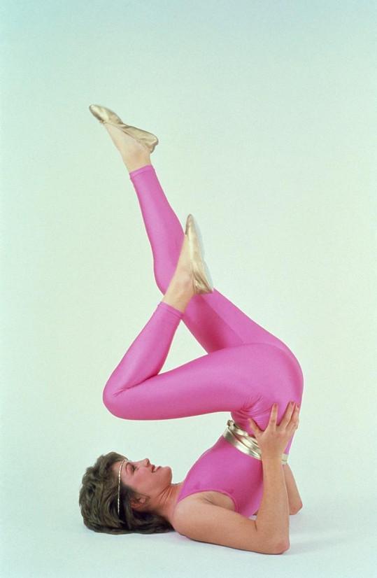 Jane Fonda byla jednou z prvních propagátorek aerobiku v Americe. Zdena Studenková zase na Slovensku.