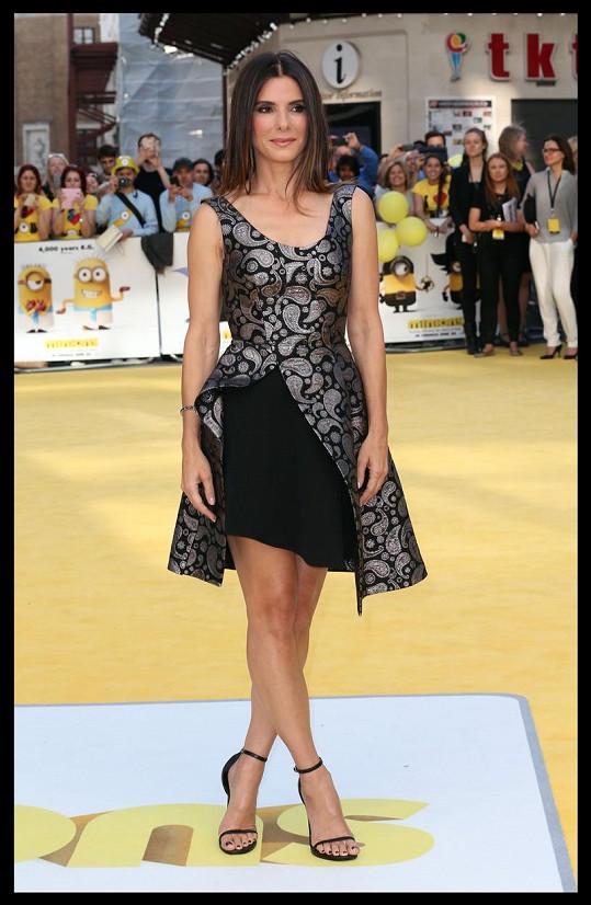 Sandra Bullock byla magazínem People zvolena nejkrásnější ženou roku 2015.