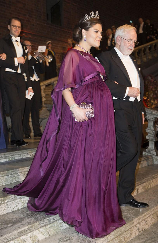 Princezna Viktorie a Arthur B. McDonald