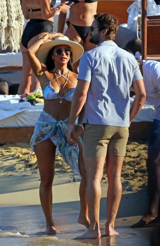 Nicole Scherzinger s přítelem Thomem Evansem