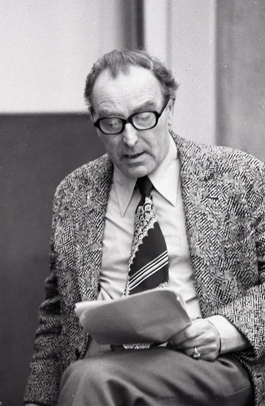 Raoul Schránil na snímku ze 70. let