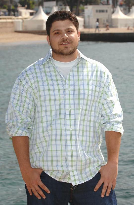 Jerry v době, kdy vážil o 30 kilogramů více.