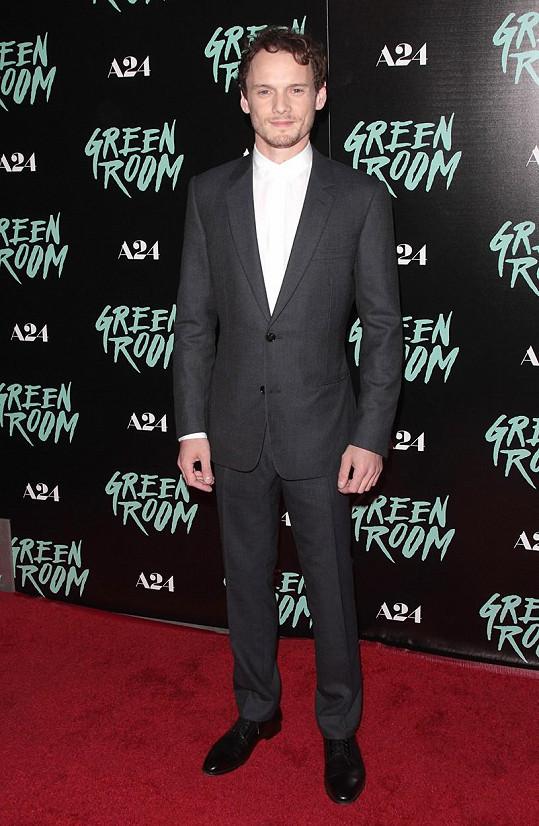 Herec v dubnu uvedl svůj film Green Room.