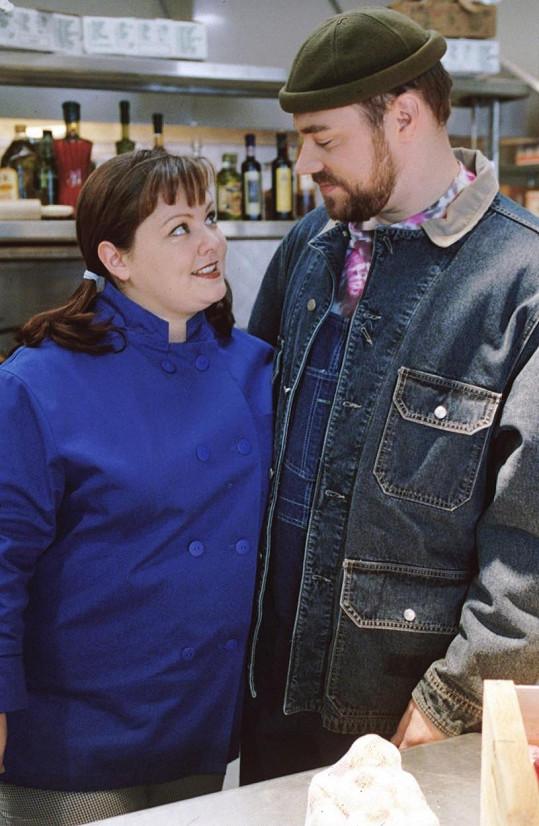 Melissa McCarthy jako Sookie St. James a Jackson Douglas jako Jackson Belleville v Gilmorových děvčatech