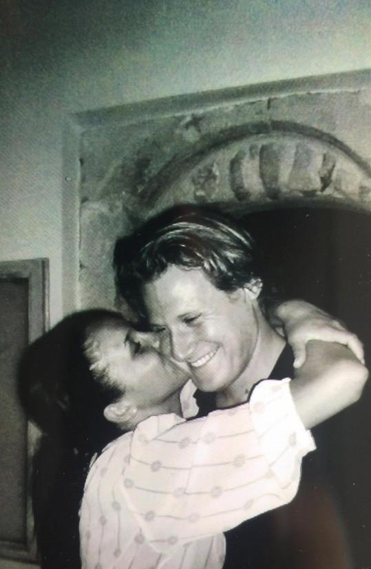 Meghan s bývalým manželem Trevorem