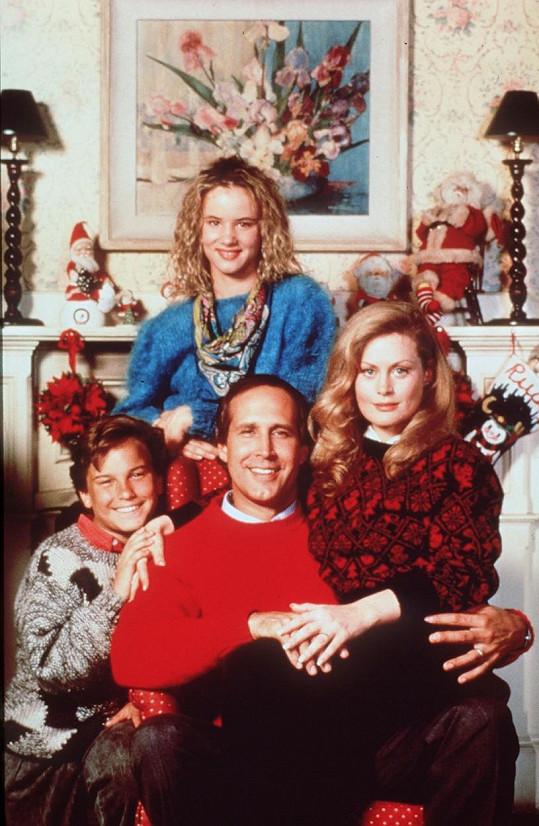 V komediální sérii s filmovou rodinou Griswoldových