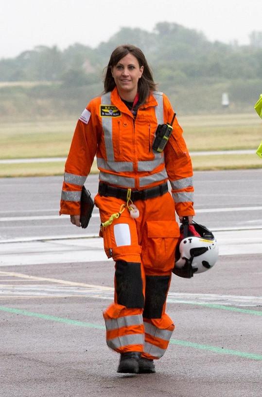Lékařka Gemma Mullen je princovou novou parťačkou.