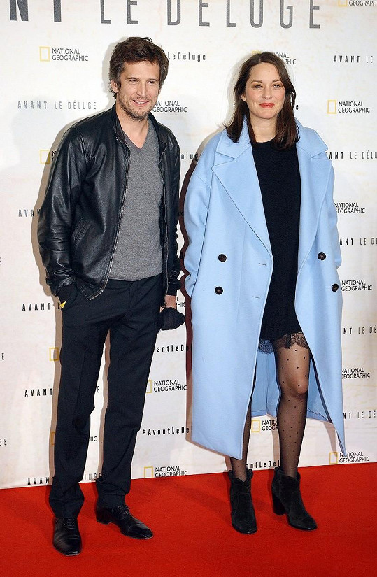 Marion Cotillard má s partnerem Guillaumem Canetem druhého potomka.