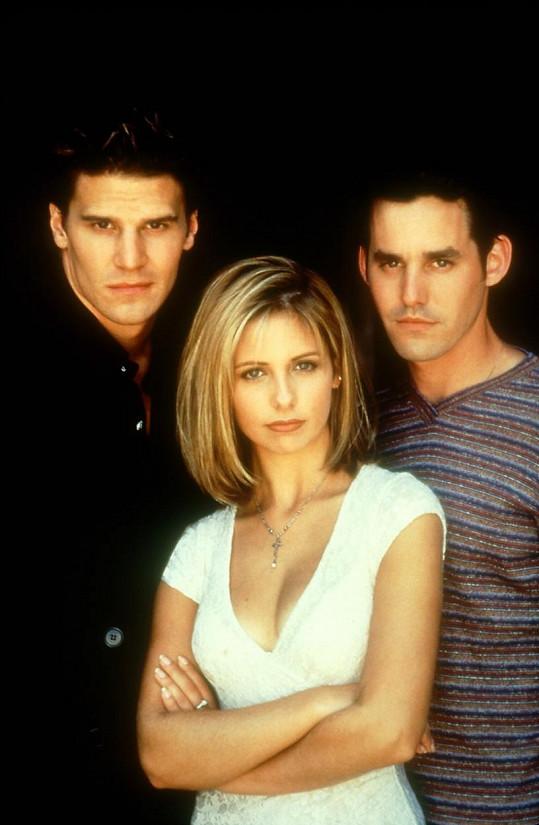 Sarah se proslavila v seriálu Buffy, přemožitelka upírů.