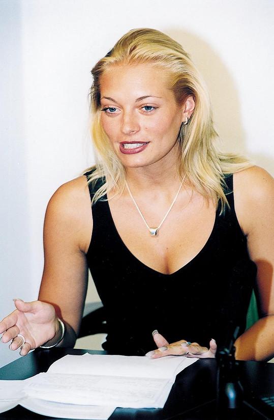 Brzy se stala jednou z nejpopulárnějších tváří Novy.