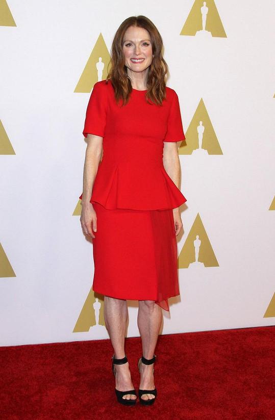 Julianne Moore je díky filmu Still Alice jasnou favoritkou.