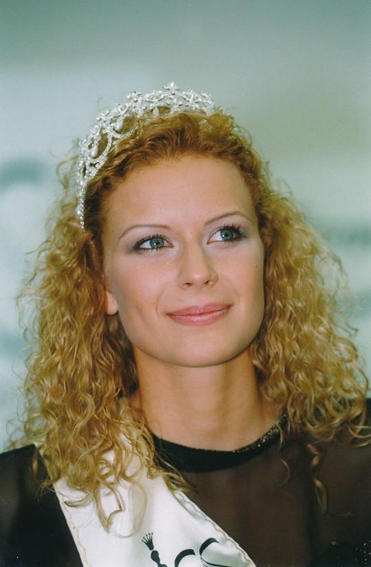 Stočesová jako Miss České republiky 1998