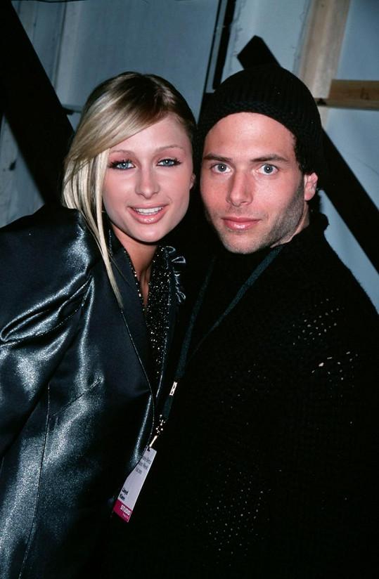 Salomon v době, kdy chodil s Paris Hilton.