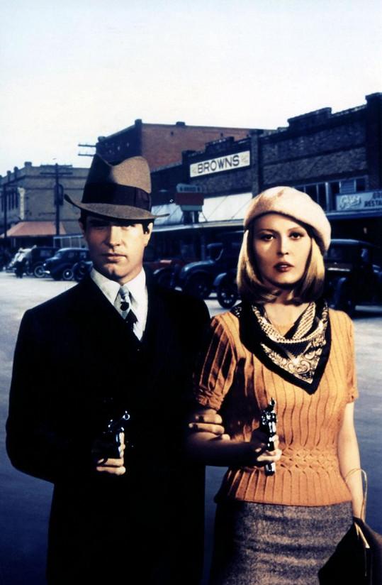 Faye Dunaway ve snímku Bonnie a Clyde z roku 1967