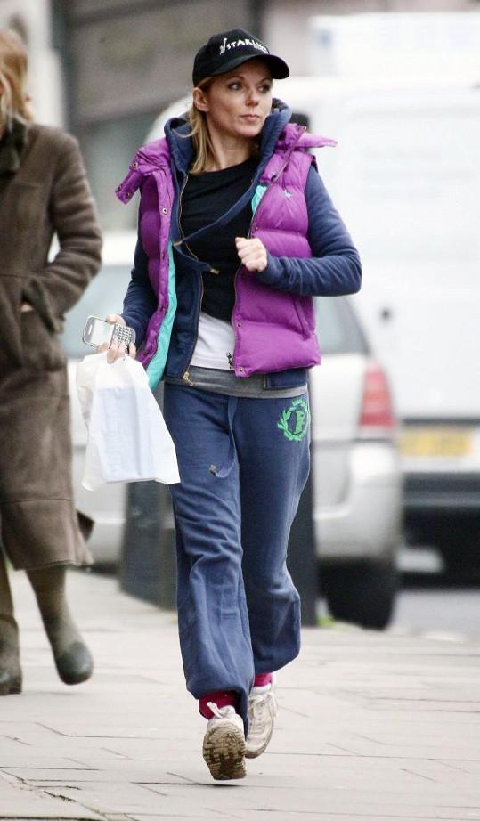 Geri Halliwell v Londýně.