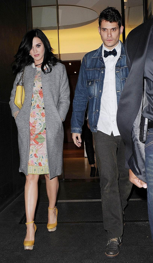 John Mayer a Katy Perry se znovu rozešli.