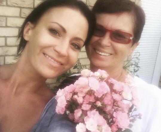 S maminkou Janou na Den matek