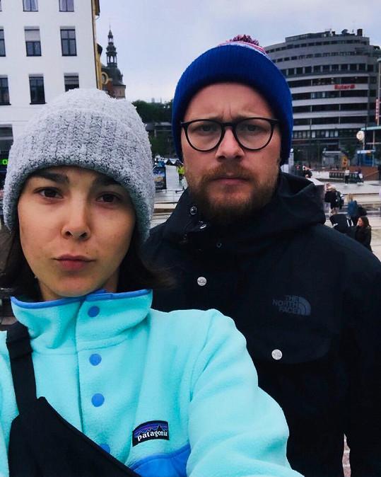 Vanda Chaloupková trávila léto v Norsku.