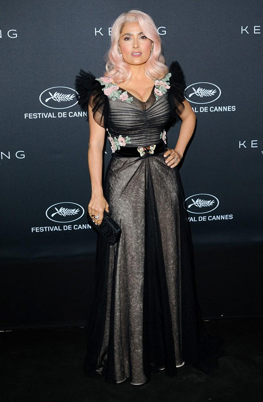 Salma Hayek navštívila filmový festival v Cannes.