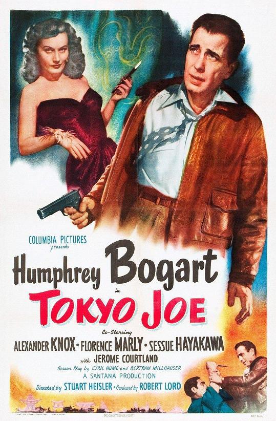 Plakát k filmu Tokyo Joe (1949). Film bohužel propadl.
