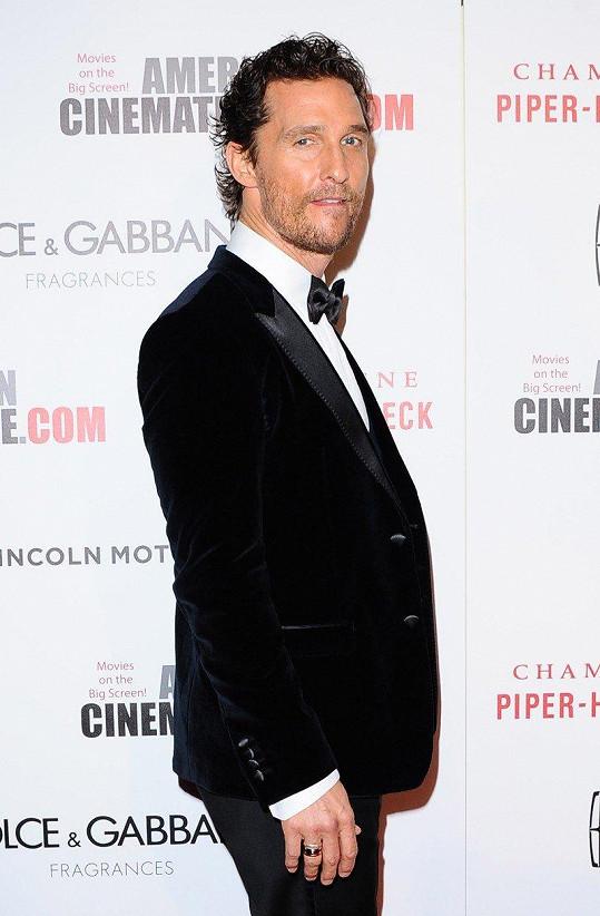 Matthew McConaughey si svého času potrpěl na bouřlivé večírky.