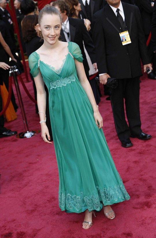 Ve 13 letech byla Saoirse poprvé nominovaná na Oscara.