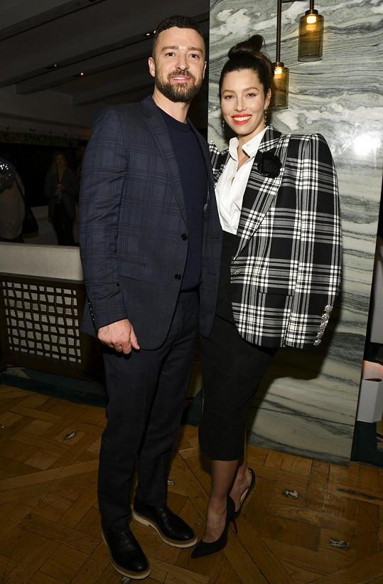 Justin Timberlake a Jessica Biel jsou dvojnásobnými rodiči.