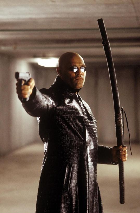 Fishburne jako Morfeus v trilogii Matrix