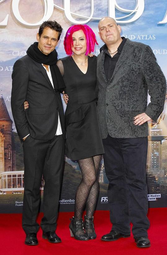 Na premiéře filmu Atlas mraků v roce 2012 už z Larryho byla Lana.