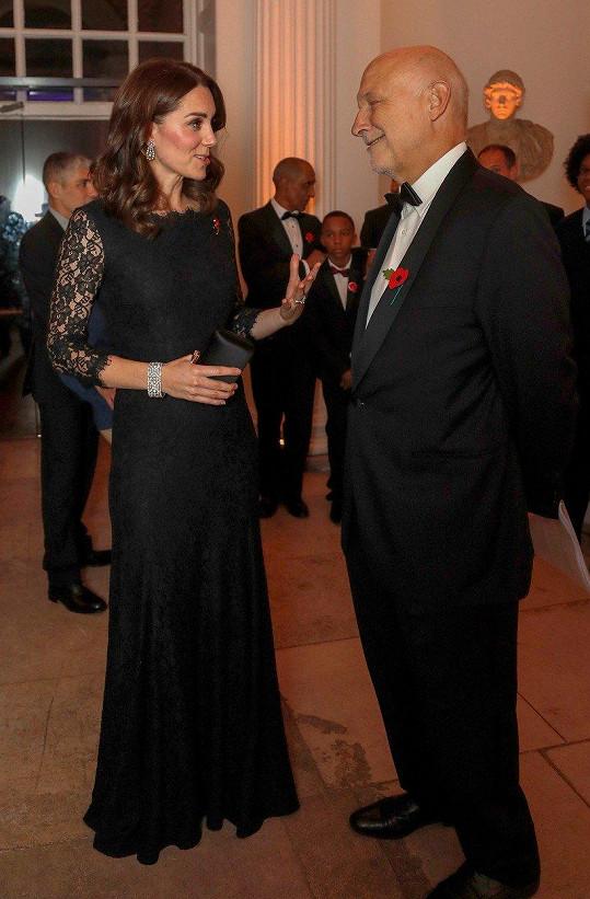 Kate navštívila charitativní galavečer.