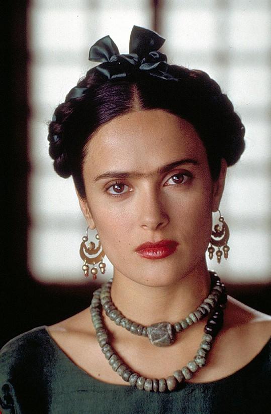 Za ztvárnění umělkyně Fridy Kahlo si vysloužila nominaci na Oscara.