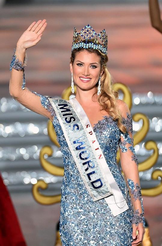 Mireia Lalaguna Royo je novou Miss World.